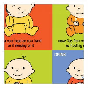 Baby Babble- Signing Stars - Baby-Signing-Poster