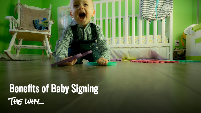 Baby Babble - the benefits of baby signing