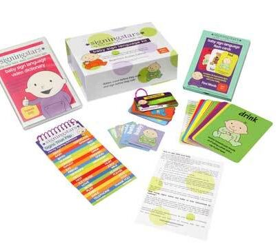 Baby Babble - Signing Stars - Baby Sign Language Kit