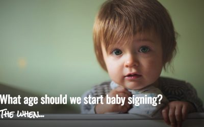 What age should we start baby signing?