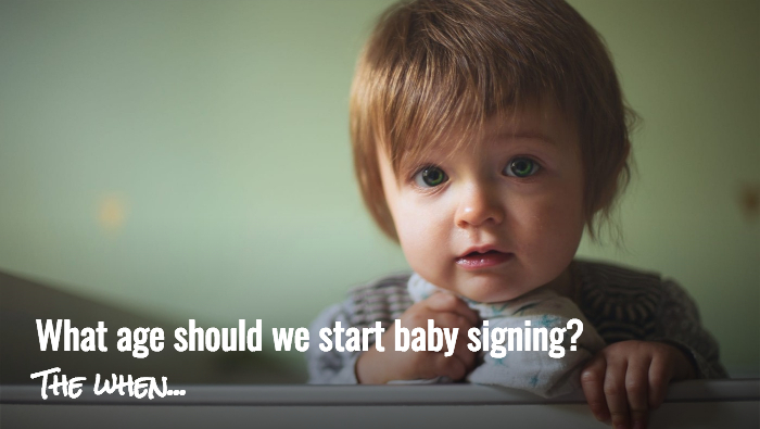 Baby Babble - what age to start